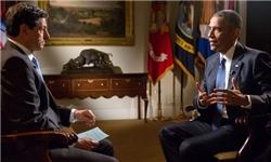 اوباما در مصاحبه با BBC:لازم باشد مشکلاتمان را از طریق نظامی با ایران حل میکنیم