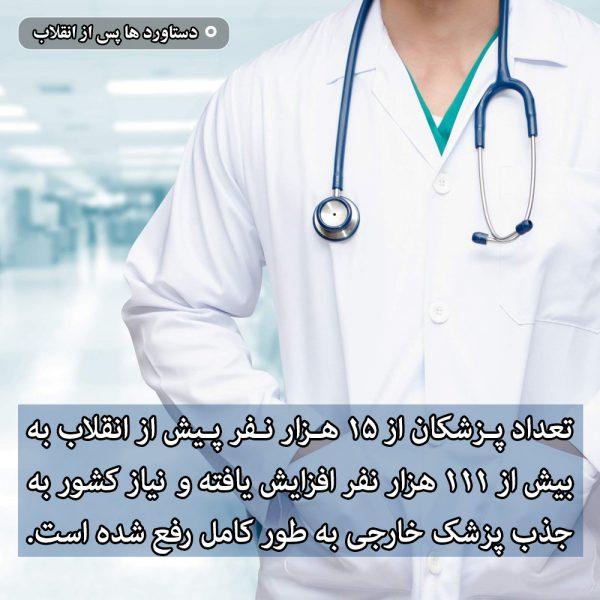 تعداد پزشکان