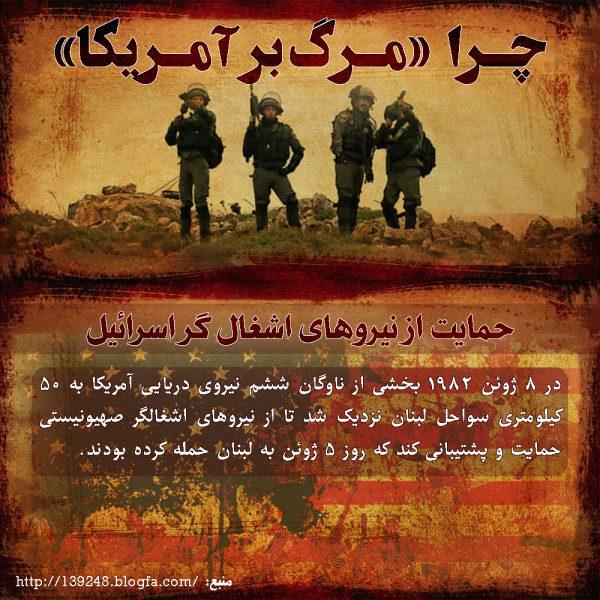 حمایت از نیروهای اشغال گر اسرائیل