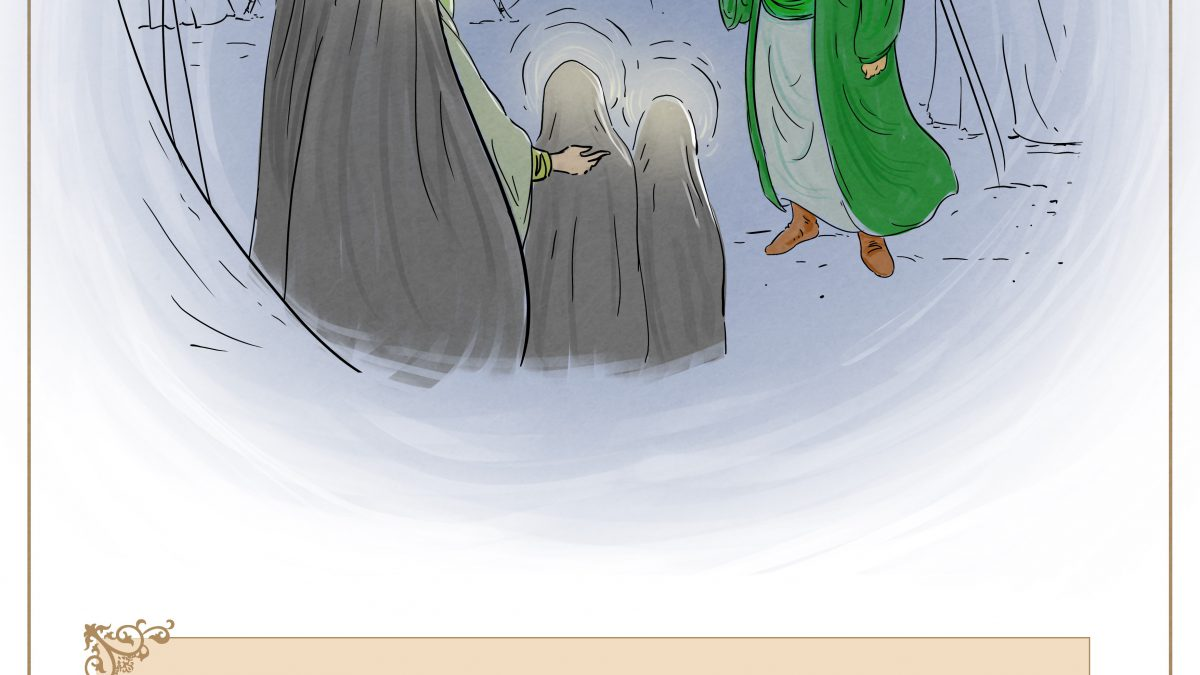وصیت امام حسین(علیه سلام) به اهلبیت خود در شب عاشورا