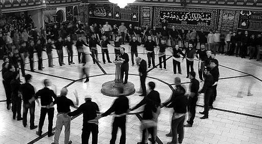 داستان مصور پویای عزاداری در دوران پهلوی