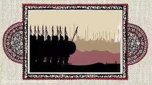 یک جنگجوی جنگ جمل در رکاب امام حسین